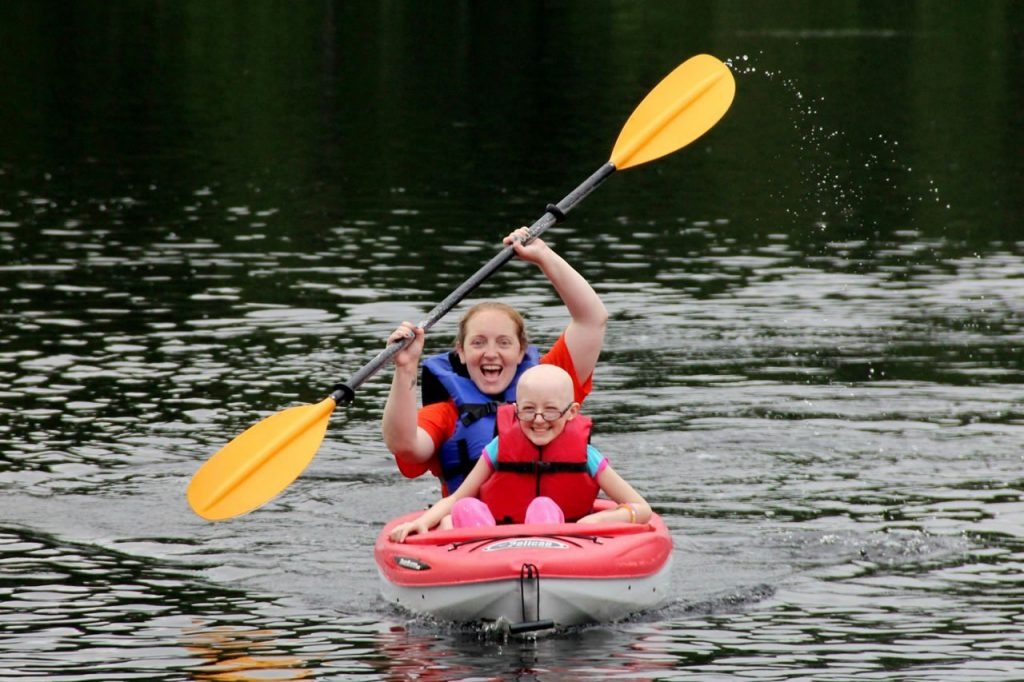 Care Camps Kayaking