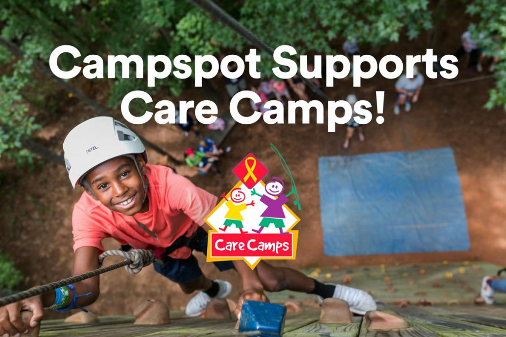 Campspot Supports Care Camps