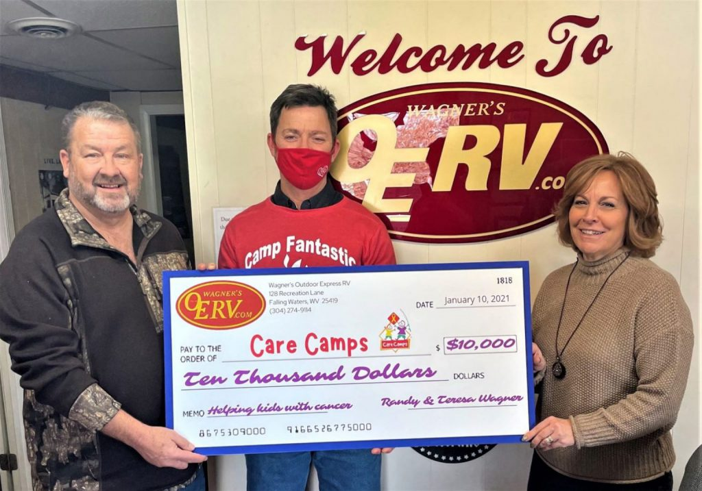 Dealership Wins $10,000 Dollars - Donates Back to Care Camps