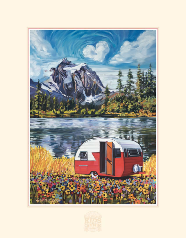2020 Care Camps Commemorative Poster
